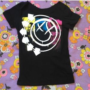 Blink 182 Self Titled 2000s cotton band tee